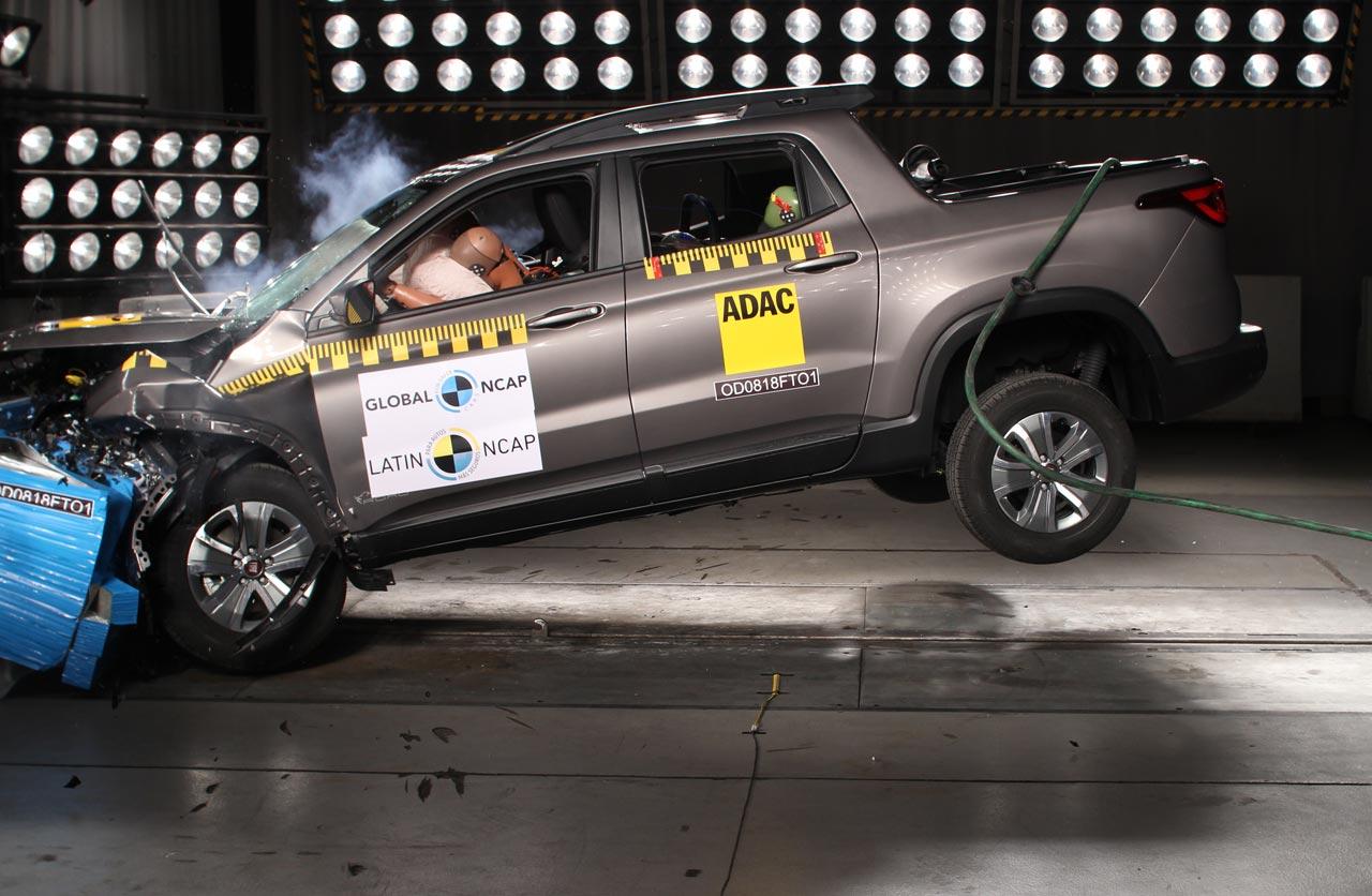 Fiat Toro Latin NCAP