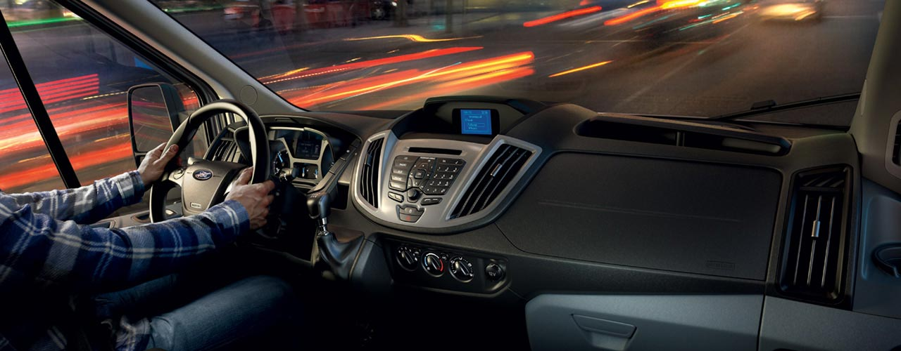 Interior Ford Transit 2018