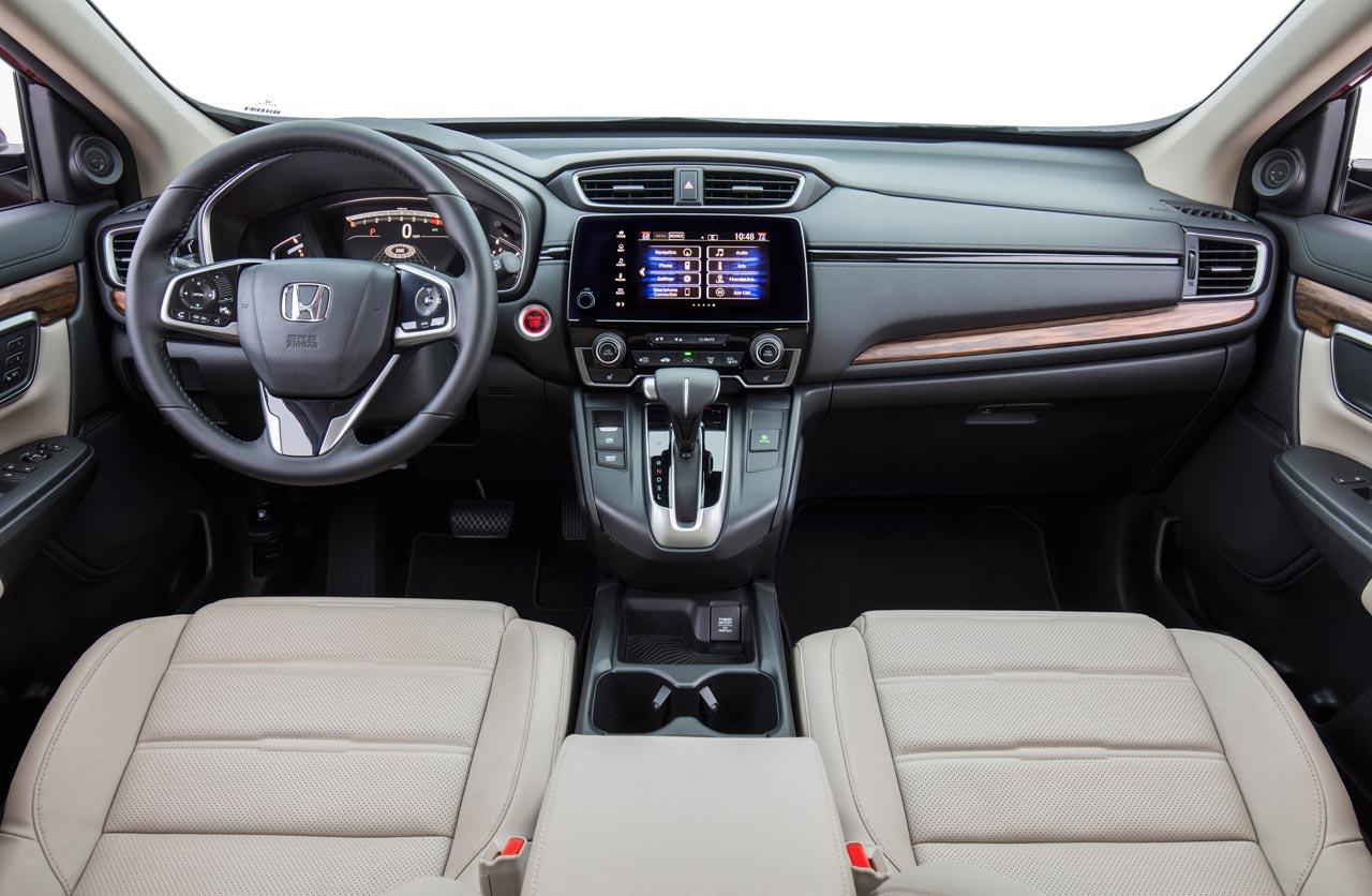 Interior Nueva Honda CR-V