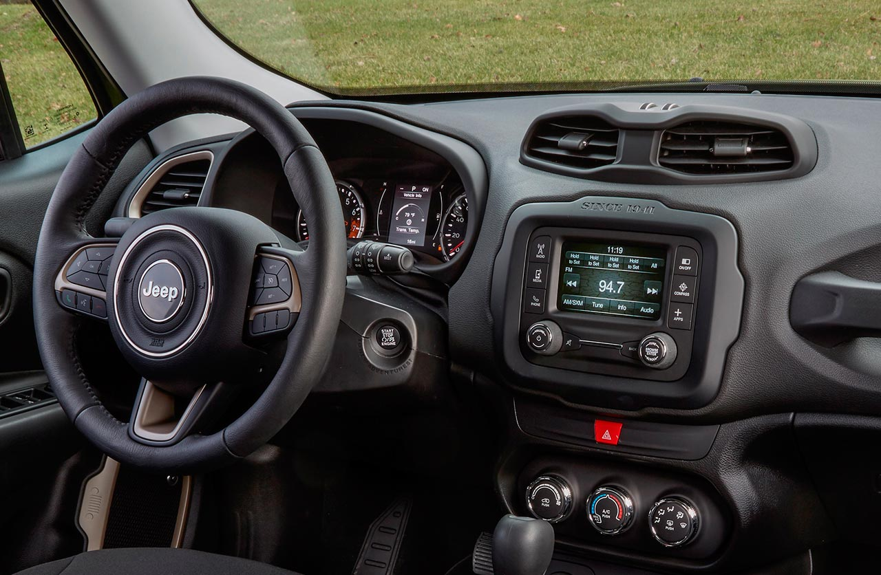 Interior Jeep Renegade 2018