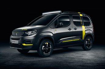 Peugeot Rifter 4x4, la Partner aventurera