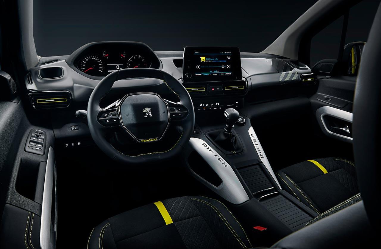 Interior Peugeot Rifter 4x4 Concept