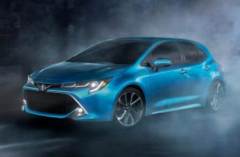 Toyota prueba el nuevo Corolla en la región
