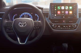 Así es el interior del nuevo Toyota Corolla