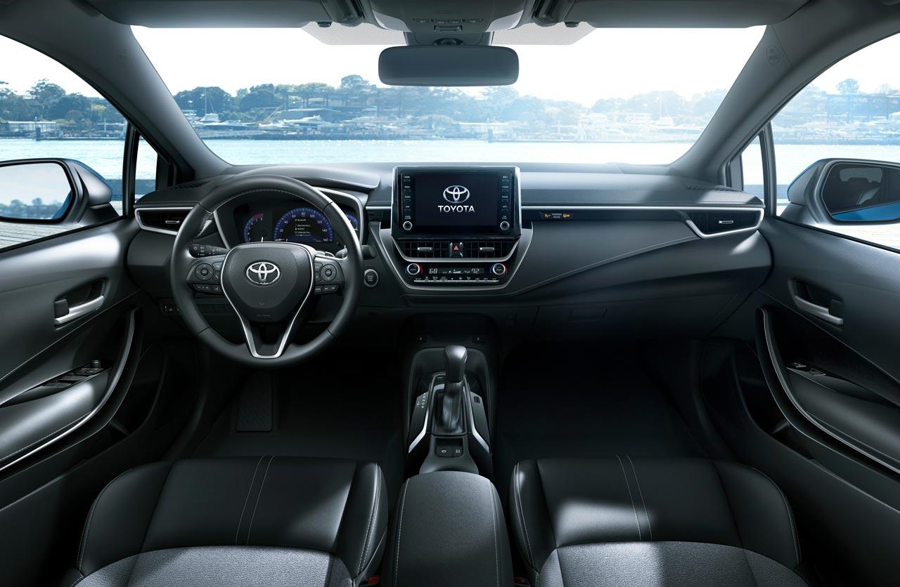 Interior nuevo Toyota Corolla