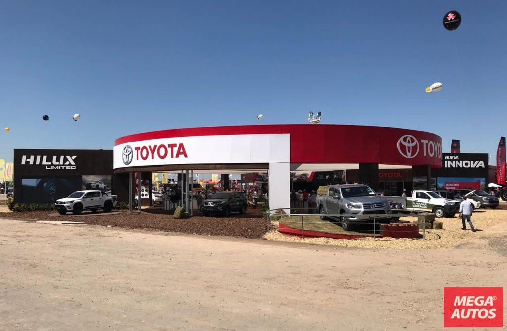 Expoagro Stands : Toyota expoagro stand mega autos