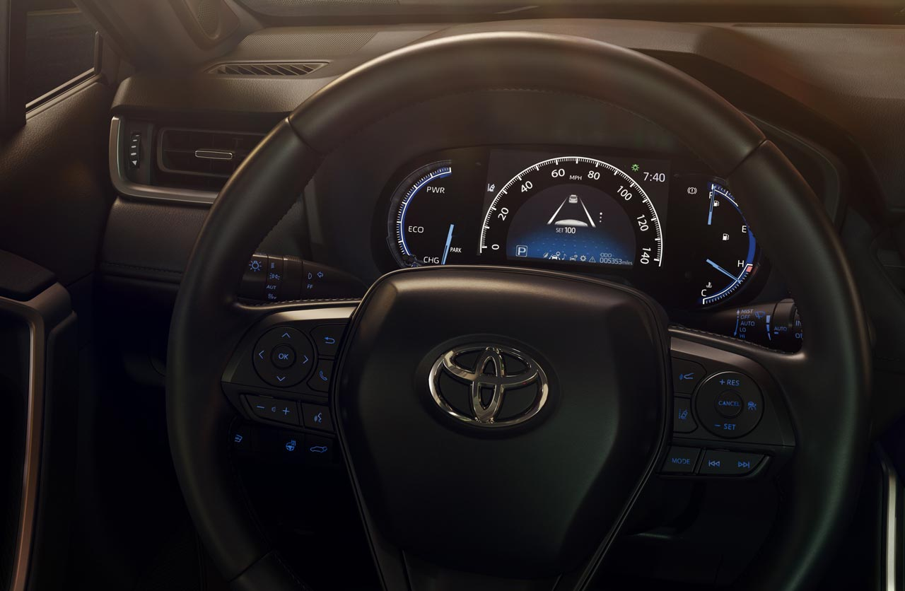 Interior Nueva Toyota RAV4