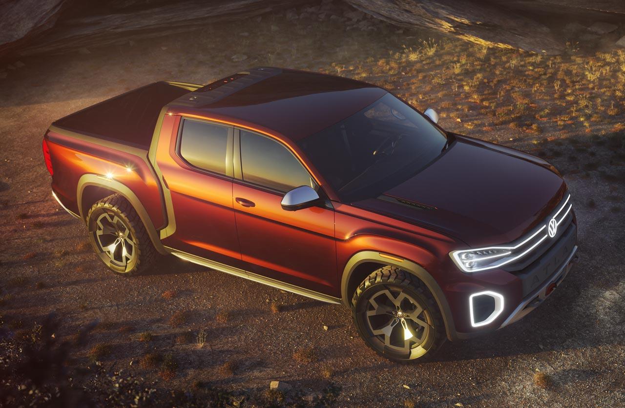 Atlas Tanoak Pickup Concept