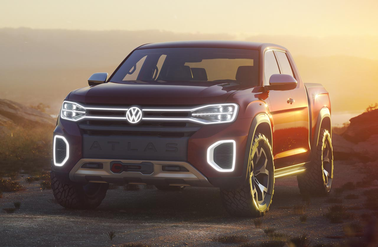 Volkswagen anticipa una nueva pick up