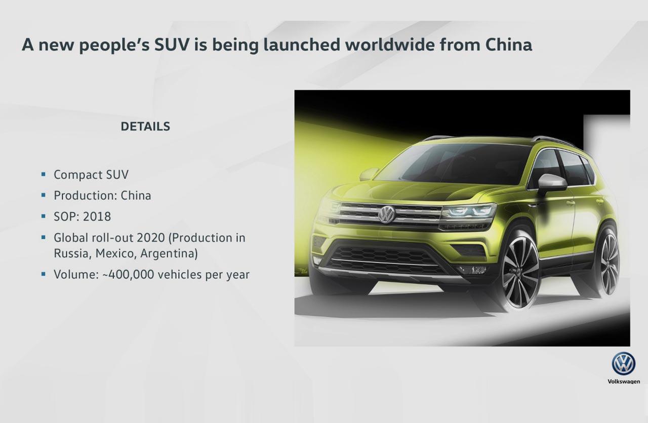 Nuevo SUV Volkswagen argentino