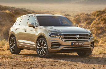 Con ustedes, la nueva Volkswagen Touareg