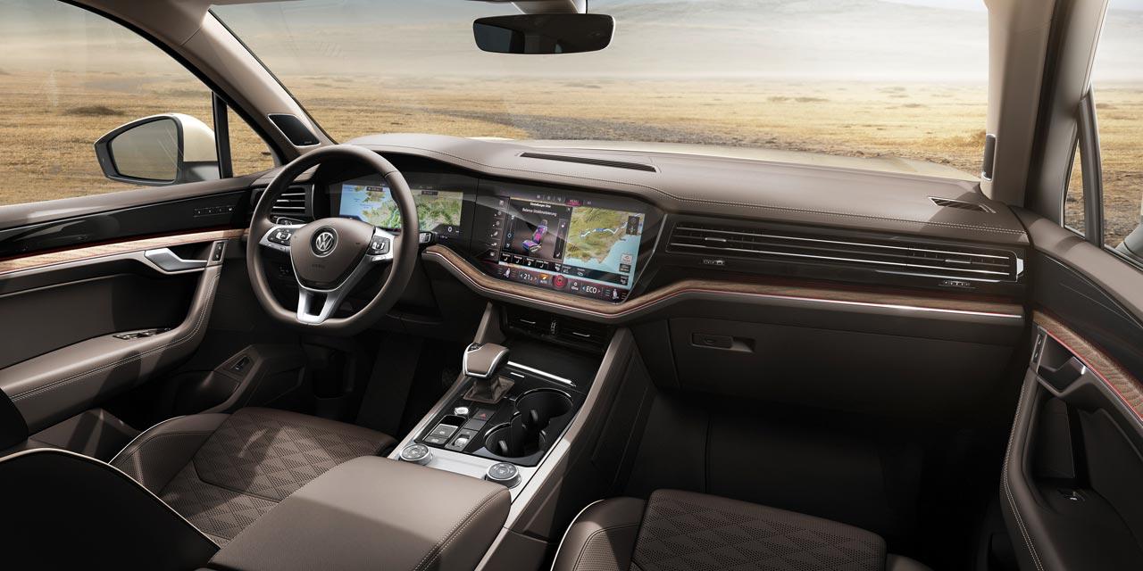 Interior Nueva Volkswagen Touareg 2019