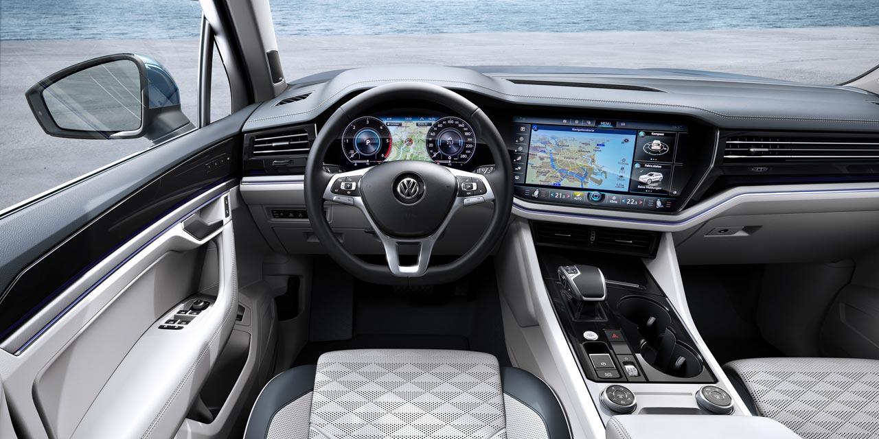 Interior Volkswagen Touareg 2019