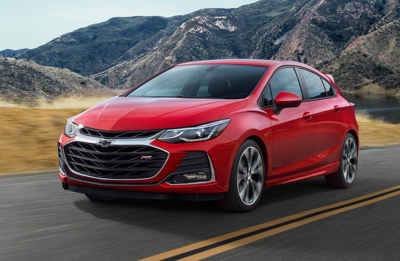 Cambios estéticos para el Chevrolet Cruze