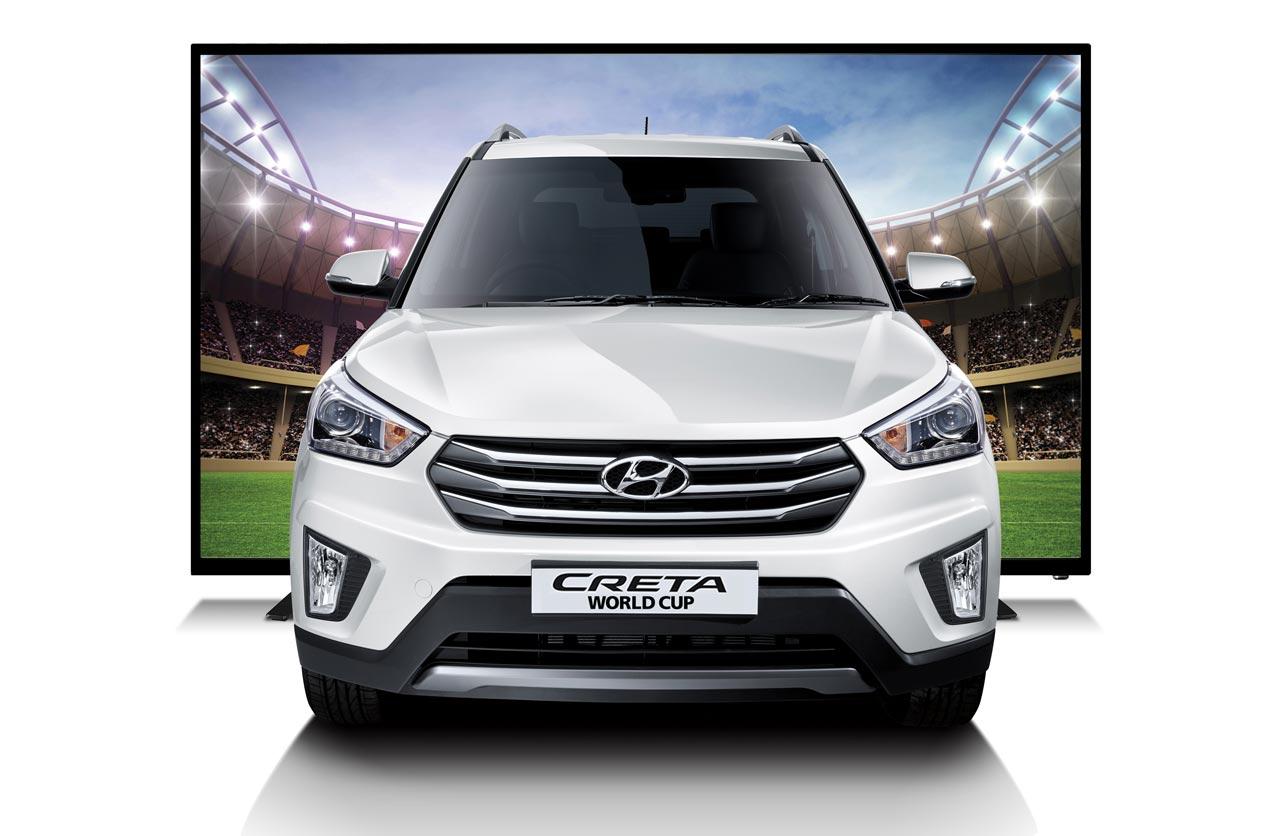 Hyundai Creta World Cup, edición especial por el Mundial