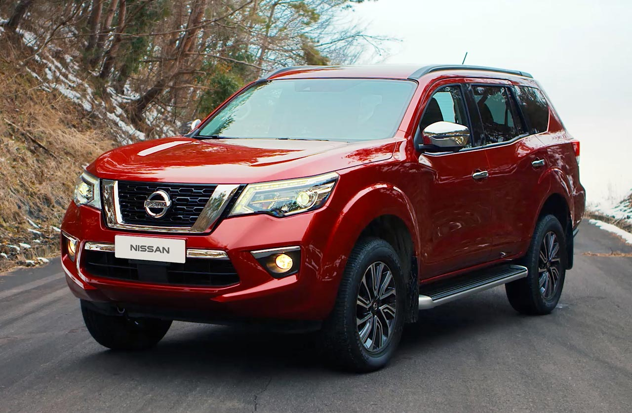 Cómo es el Nissan Terra, el SUV de la Frontier