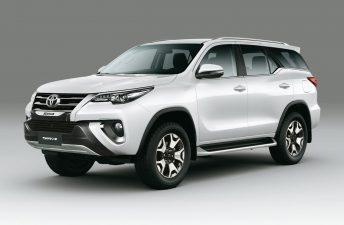 Toyota lanzó la SW4 Diamond en Argentina