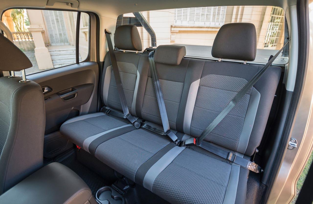 Plazas traseras Amarok V6 Comfortline