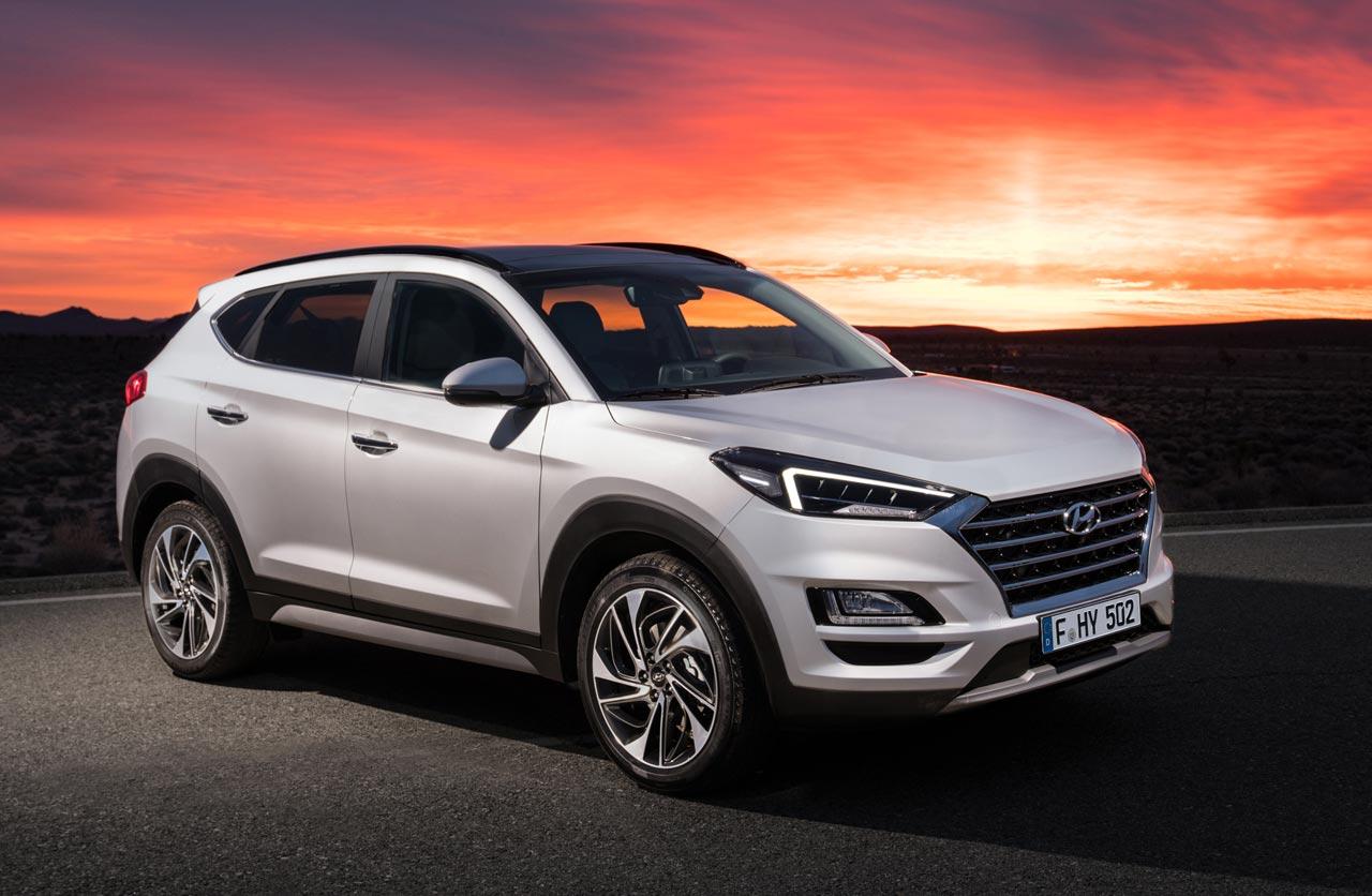 Hyundai Tucson, con cambios variados