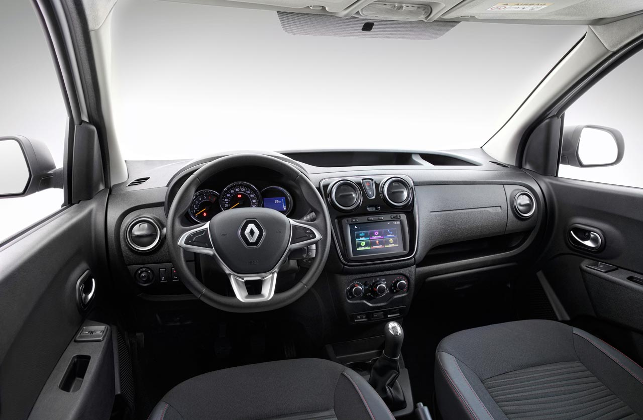 Interior Nuevo Renault Kangoo