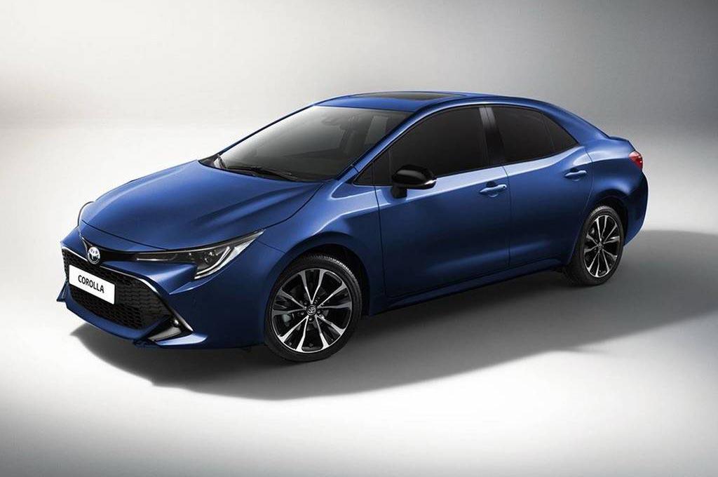 El Nuevo Toyota Corolla Va Tomando Forma Mega Autos