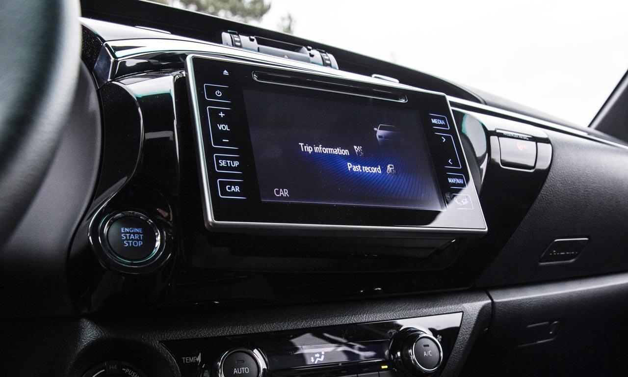 Interior Nueva Toyota Hilux Special Edition