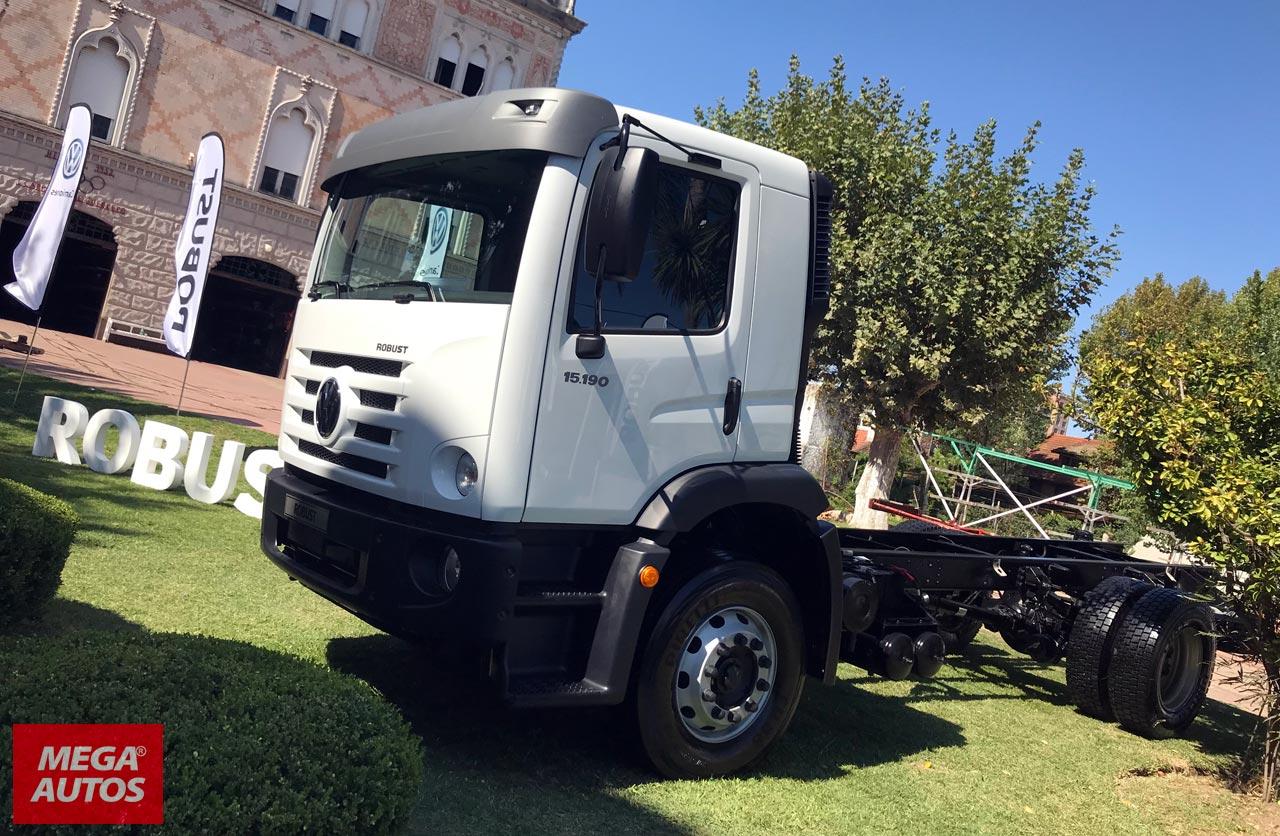 Volkswagen lanzó su nuevo camión Robust en Argentina