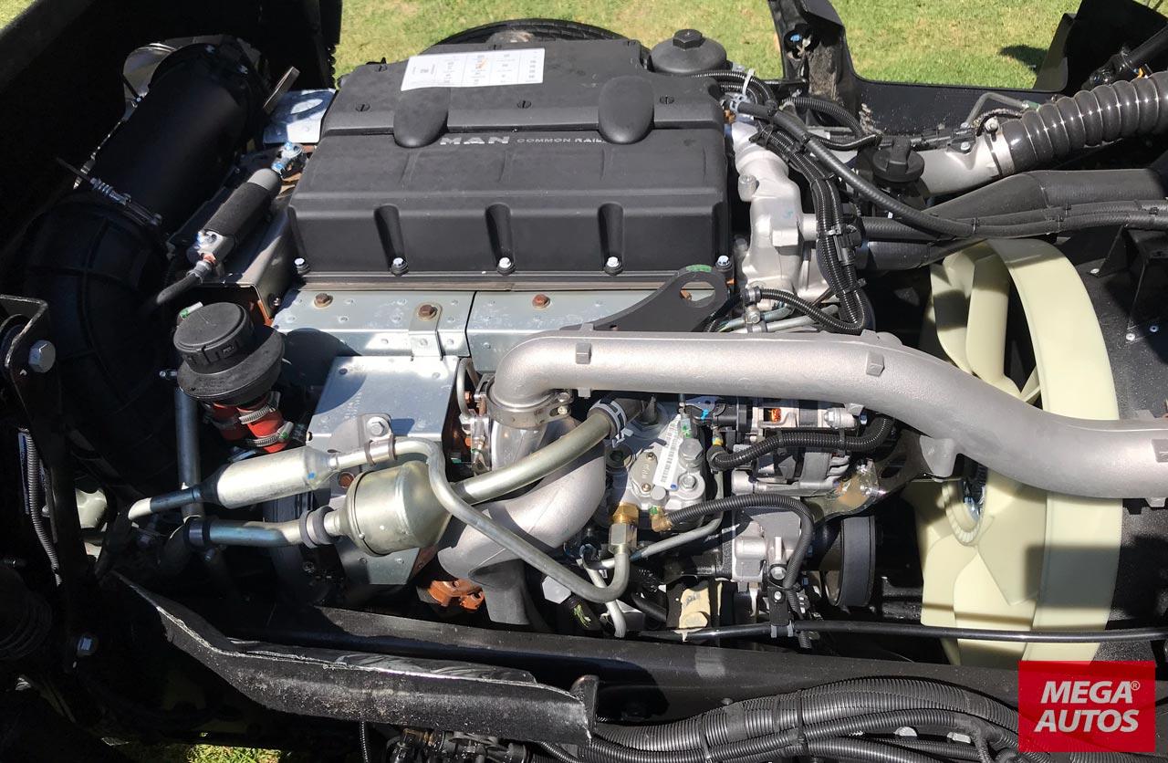 Motor MAN Volkswagen Robust