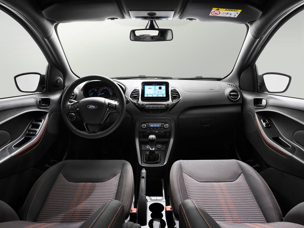 Interior Ford Ka Freestyle