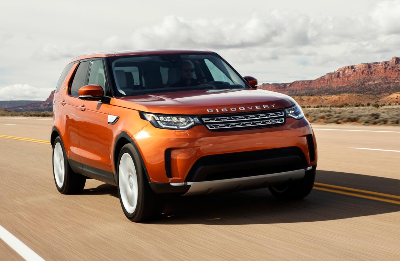 Llegó la nueva generación del Land Rover Discovery