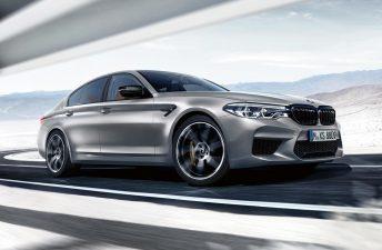 BMW exprimió el M5 con la versión Competition