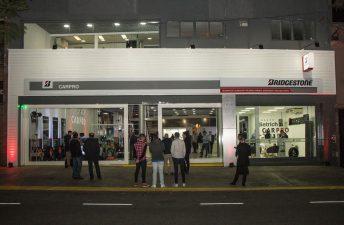 Car Pro inauguró el primer centro integral de servicios para el automóvil Bridgestone