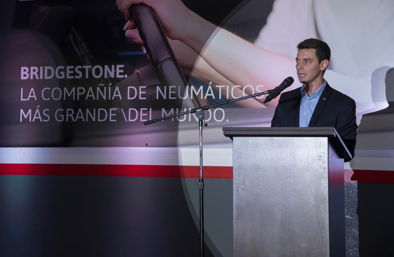 Agustín Pedroni, presidente de Bridgestone Argentina