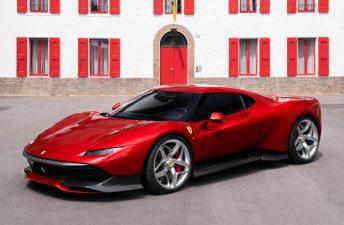 Ferrari SP38, inspirada en la mítica F40