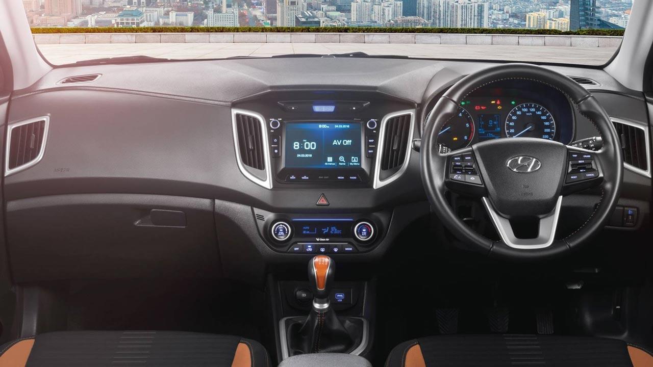 Interior Hyundai Creta 2019