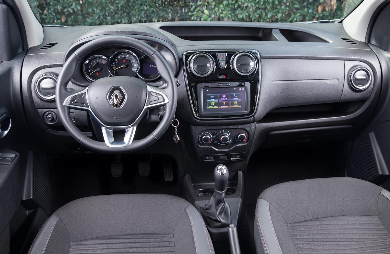 Interior Nuevo Renault Kangoo pasajeros