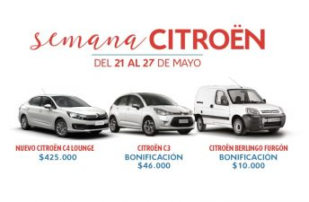 Semana Citroën: importantes promociones para comprar un 0KM