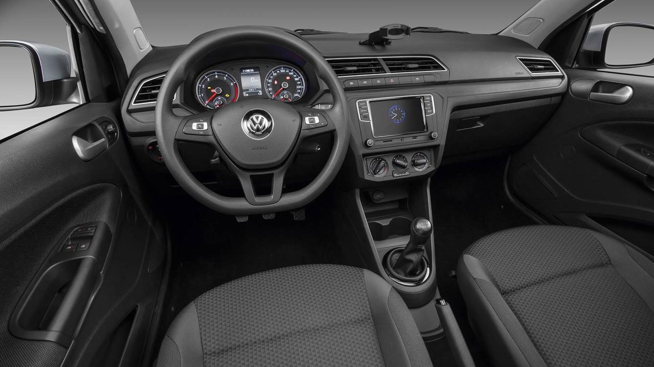 Interior Volkswagen Gol y Voyage 2019