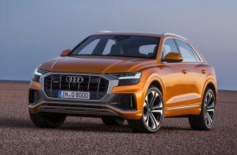Audi presentó el nuevo Q8
