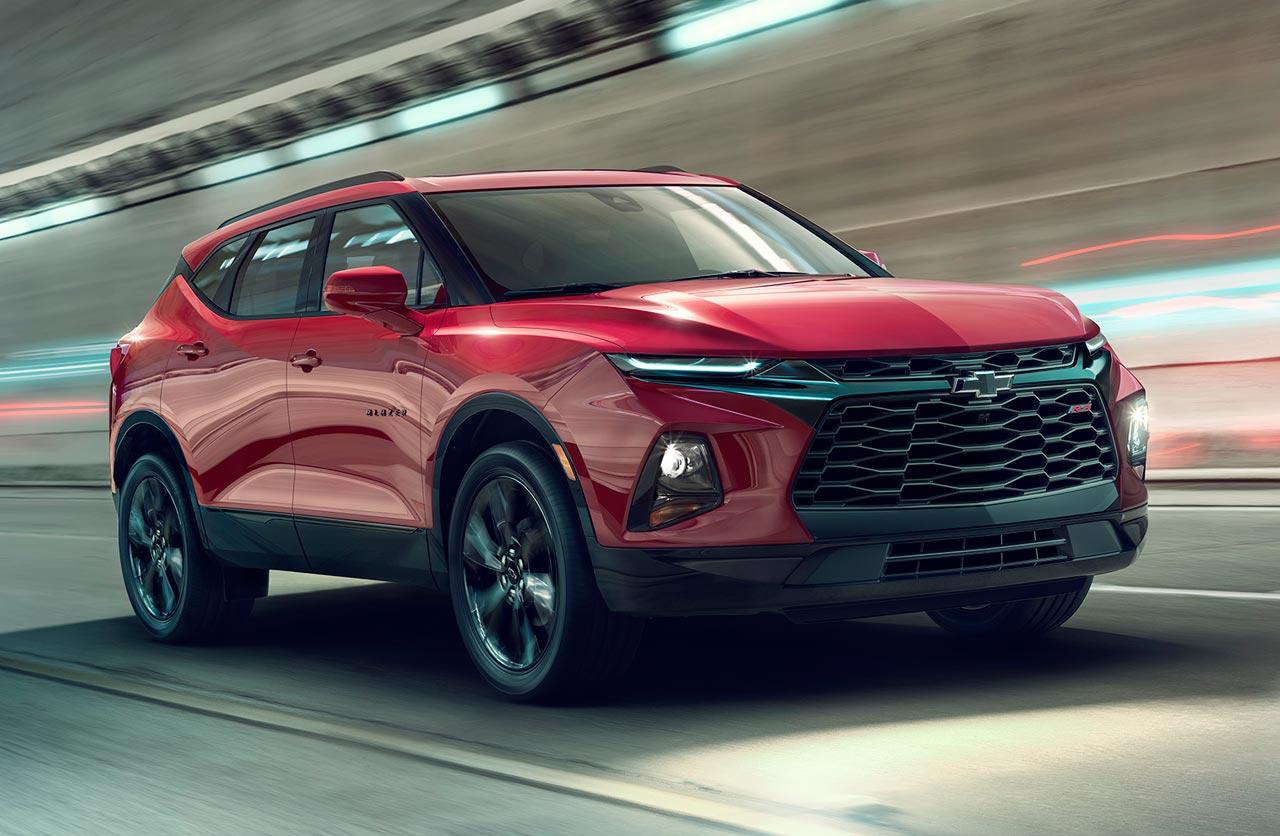 Esta es la nueva Chevrolet Blazer