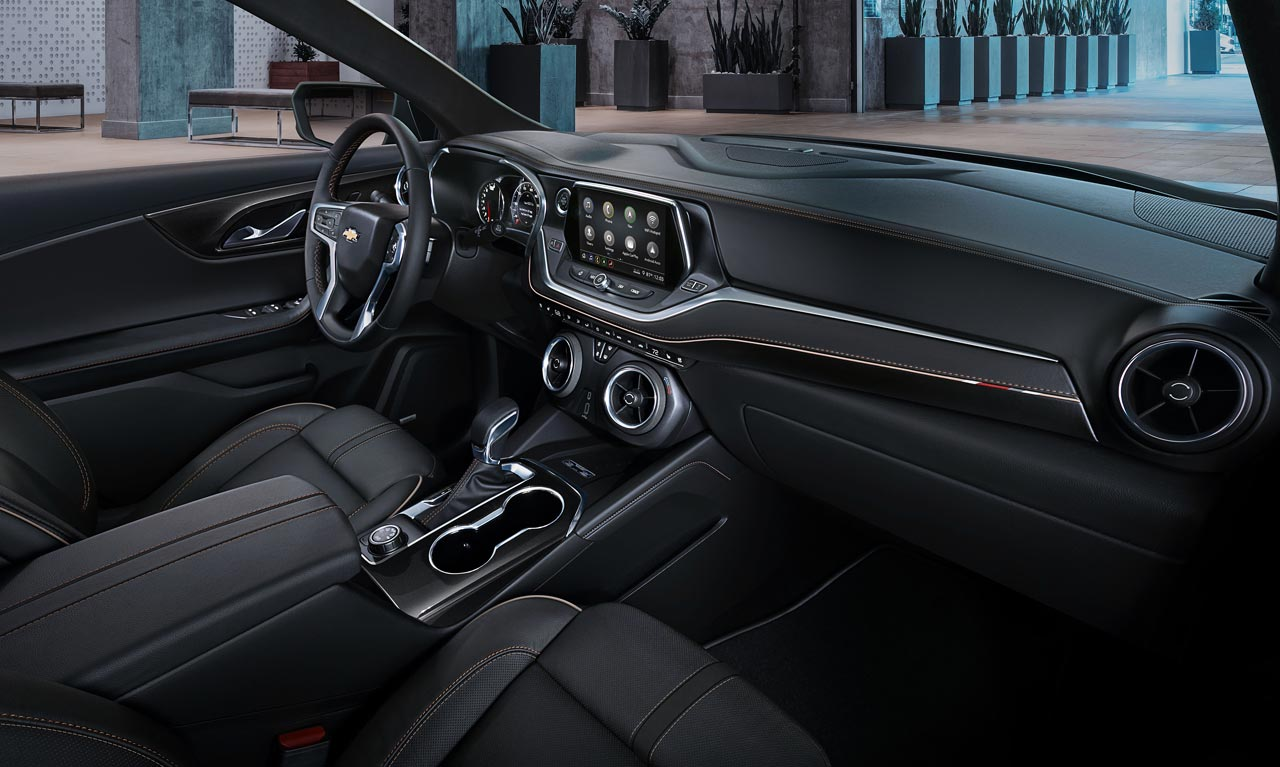 Interior Chevrolet Blazer 2019