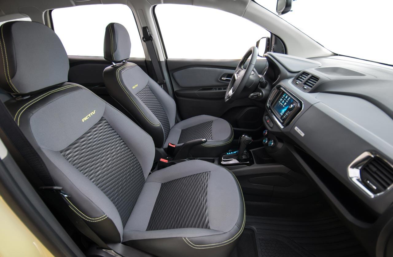 Interior Nuevo Chevrolet Spin