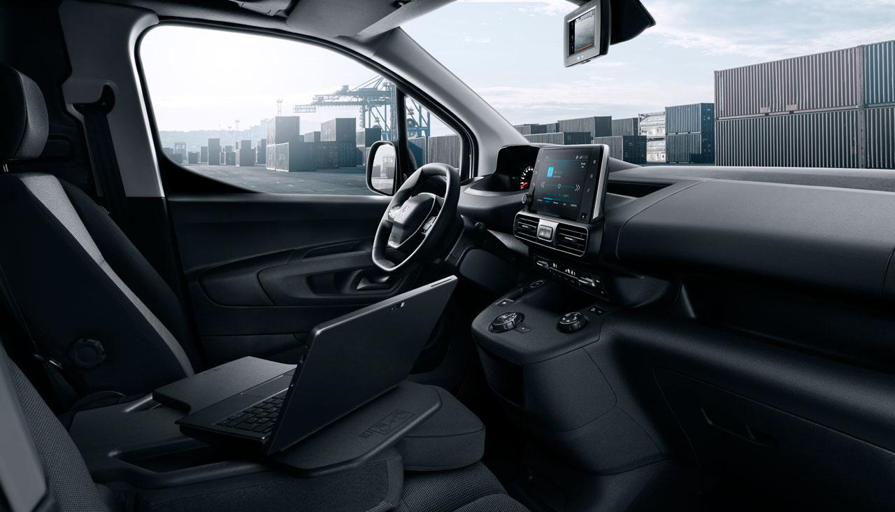Interior Nuevo Peugeot Partner