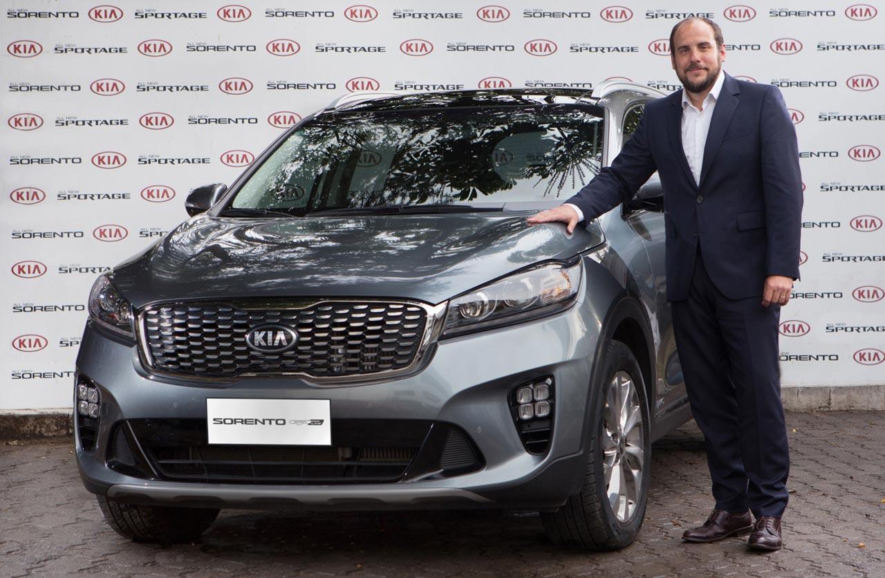 Pablo García Leyenda, nuevo gerente Comercial de Marketing y Producto de Kia Argentina