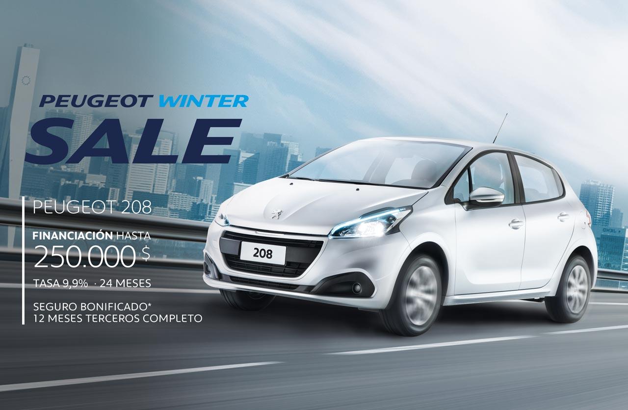 Peugeot Winter Sale: beneficios para llegar al 0km