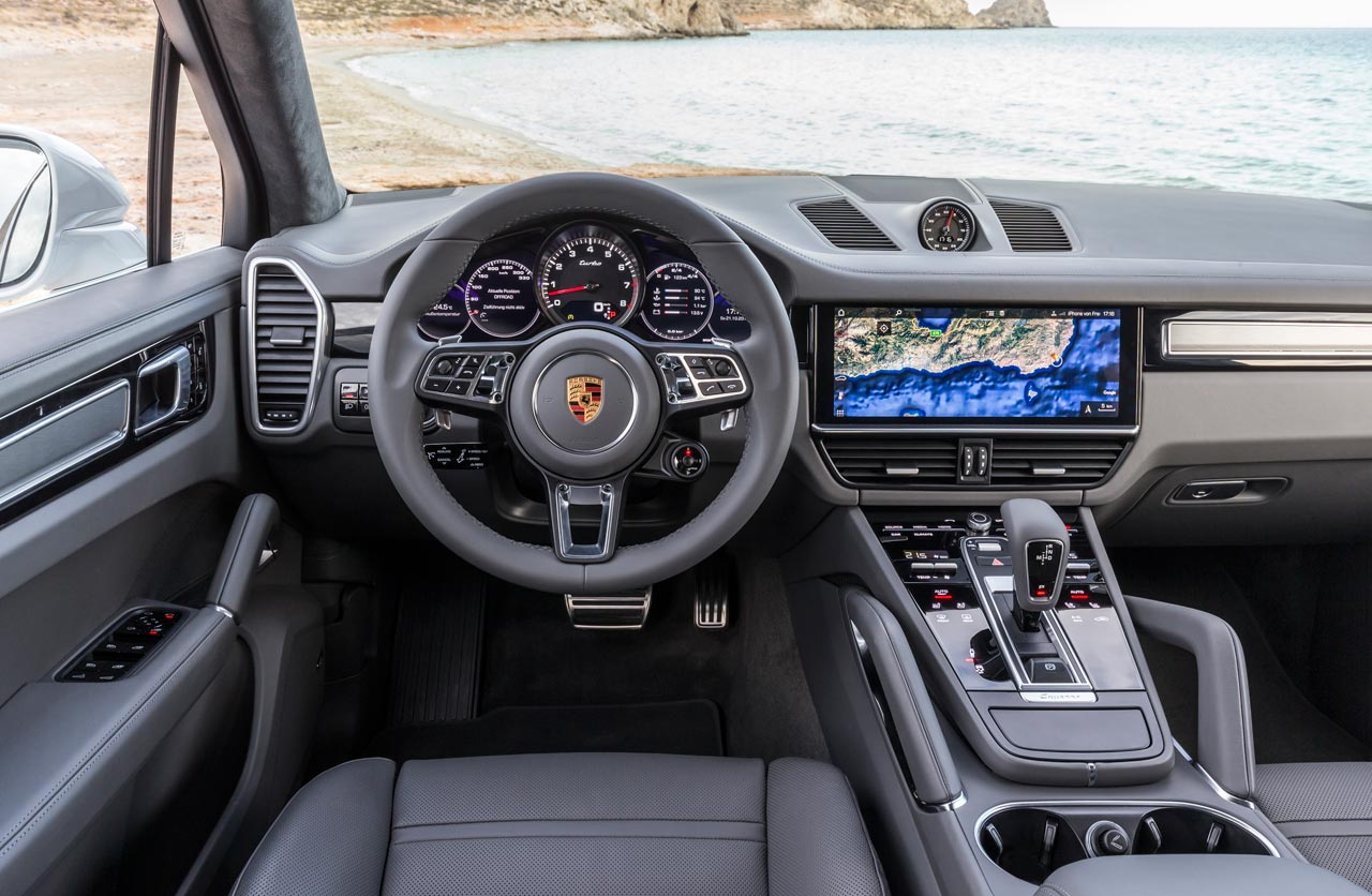 Interior Porsche Cayenne Turbo