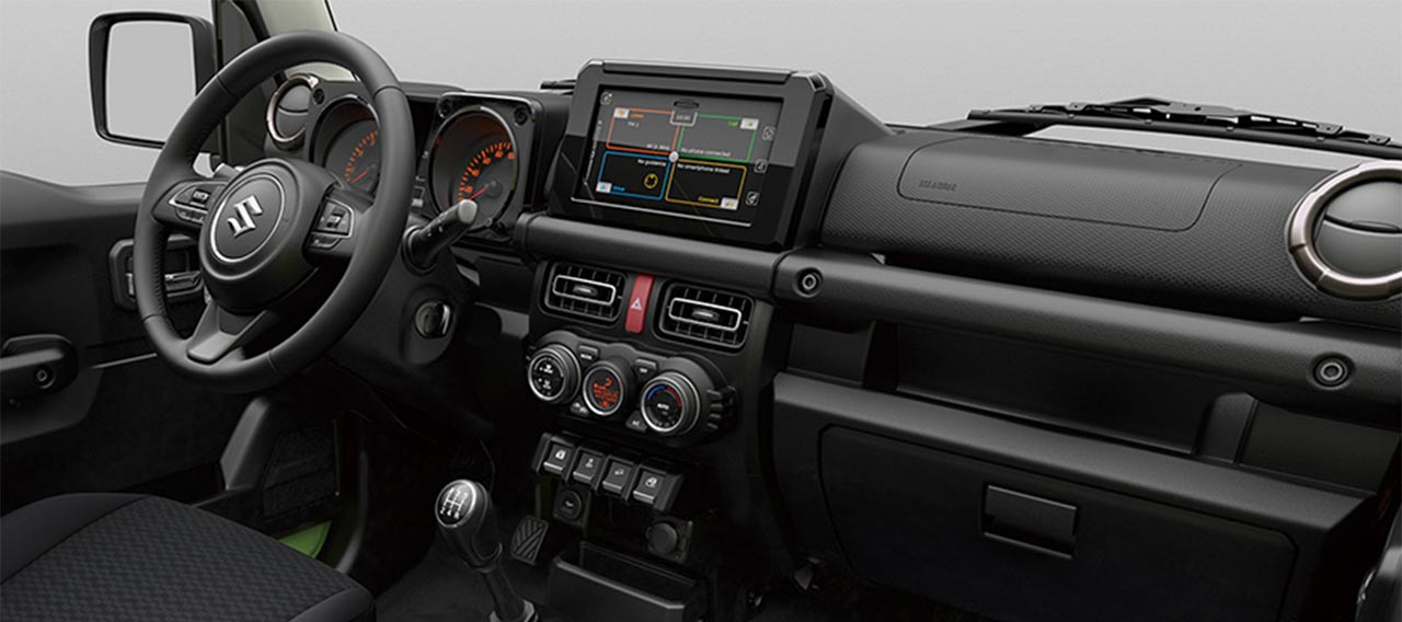 Interior Nuevo Suzuki Jimny
