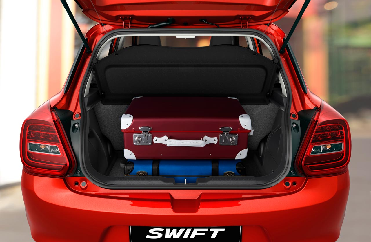 Baúl Nuevo Suzuki Swift
