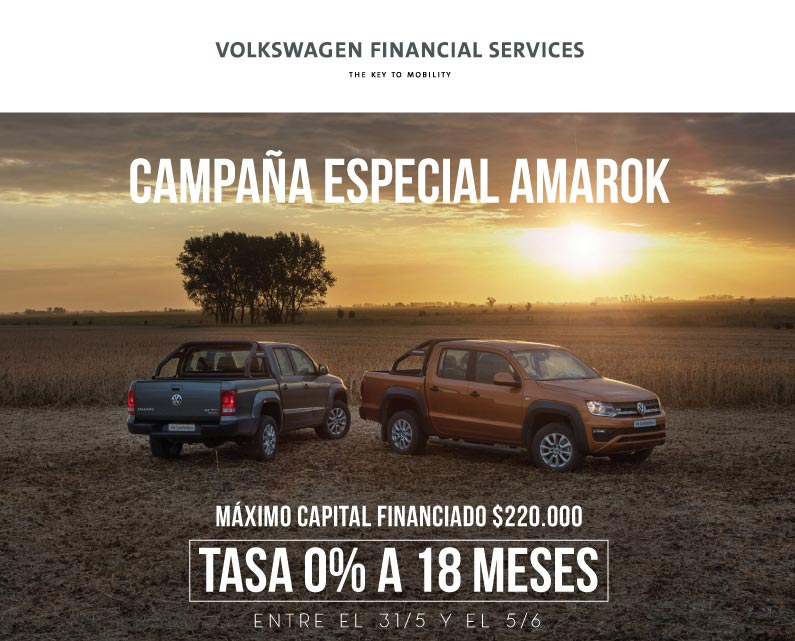 Financiamiento Volkswagen Amarok