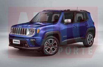 Proyectan los cambios del Jeep Renegade